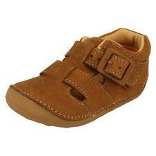 Calzado de niño sandalias marrón de piel