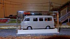 Brekina 34401 Fiat 238 mini bus grigio prodotto dal 1967 al 1983, scala H0 1/87