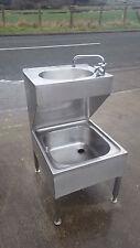 Mop sink stainless steel sink unit