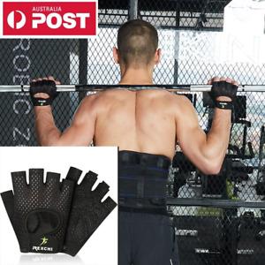 Unisex Fitness Gym Training Gloves Half Finger Gel Weight Lifting Workout Gloves