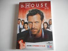 DVD - Dr HOUSE N° 11 / SAISON 2 / EPISODES 17 à 20 - ZONE 2