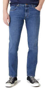 Wrangler Greensboro Blown Away Herren Blaue Jeans Hose auch in Übergröße