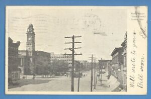 PUBLIC SQUARE, CANTON, OHIO VINTAGE PC. USED 4285