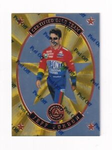 1997 Pinnacle CERTIFIED TEAM GOLD PARALLEL #2 Jeff Gordon SUPER SCARCE!