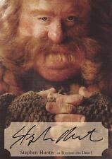 The Hobbit Desolation of Smaug: SH-P Stephen Hunter Poster Autograph Card #51/75