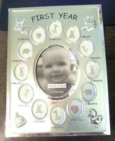 Malden Photo Frame    Baby's First Year     Baby Shower Gift