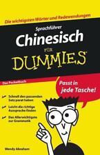Sprachführer Chinesisch für Dummies Das Pocketbuch von Wendy Abraham (2010, Taschenbuch)