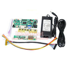 HDMI+DVI+VGA LCD Controller Board for B170PW06 V.3 V3 V.2 V2 +Power Adapter @USA