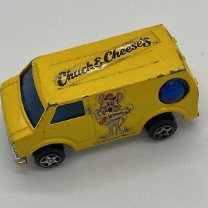 CHUCK E CHEESE'S 1981 PIZZA TIME THEATRE VAN 1/60 TOY CAR ORIGINAL