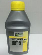CAR BRAKE & CLUTCH FLUID LUBRICANT OIL UNIVERSAL GRADE DOT 3 - VBF302 500ml