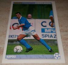 CARD JOKER 1994 NAPOLI BORDIN CALCIO FOOTBALL SOCCER ALBUM
