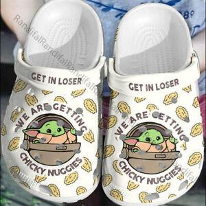Star Wars Baby Yoda Crocs, Funny Unisex Crocband,Comfortable Clog & Mules A 46