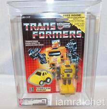 Transformers Original G1 AFA 80 Minibot Hubcap w/ Patch 80/80/85