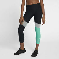 Womens NIKE POWER VICTORY Crop Length Tight Fit Leggings.  Size XL. 891934-010