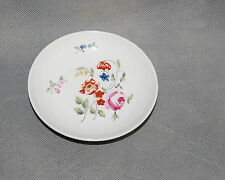 MMA Reproduction Limoges German Circa 1770 Porcelain Small Plate Flowers