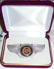 Slayer King Lombardo Heavy Metal Band Wing Live Concert Hat Jacket Badge Pin No