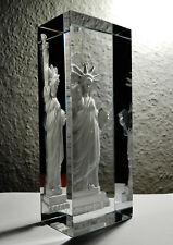 Sevres Crystal Liberty Sculpture
