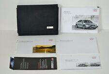 2010 Audi A4 B8 Owners Operator Manual Guide Book Set W/ Case Original Oem