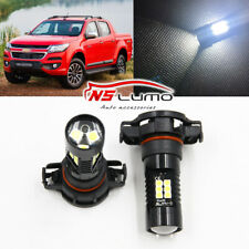 5202 H16 LED Fog Light Bulbs for 2007-2015 Chevy Silverado 1500 White 6000K 80W