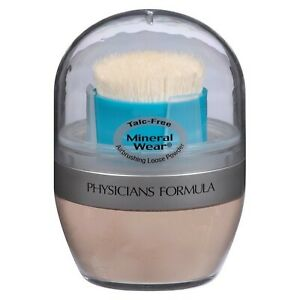 Physicians Formula Mineral Wear Talc-Free Airbrushing Powder - You Choose - READ