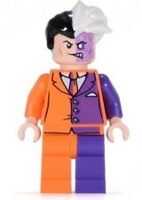 Two Face Batman Minifigure figure Comic version  Harvey Dent Twoface