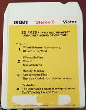 Who Will Answer & Other Songs of Our Time by Ed Ames 8 Track P8S1307