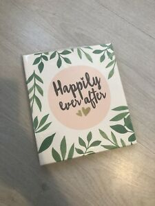 Paperchase Wedding Happily Ever After Instax Polaroid Photo Album - New