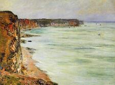 Art Oil painting Claude Monet - Calm Weather, Fecamp impressionism landscape