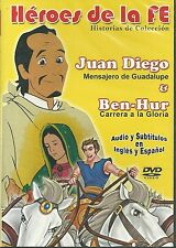HEROES DE LA FE(Historias de Coleccion)NEW DVD AUDIO&SUBTITLES IN ENG&SPA