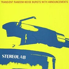 Stereolab Transient Random-noise Bursts With Announcement Vinyl LP Record NEW!!!