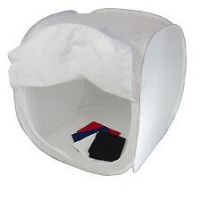 Cube Boite Lumière Softbox Diffuseur Tente Cabine DynaSun PB1 80cm + 4x Fond Sac