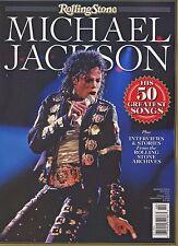 Rolling Stone Magazine Commemorative 2014 50 Favorite Songs MICHAEL JACKSON