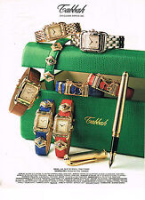 PUBLICITE ADVERTISING  1994    TABBAH     collection montres