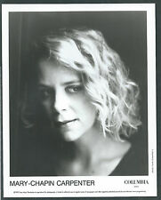 VINTAGE 2 MARY CHAPIN CARPENTER ORIGINAL PRESS PHOTO 8 X 10   1990 & 1992