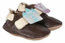 NIB ROBEEZ Shoes My Fairy Tale Espresso Brown Princess 12-18m 4.5 5 6