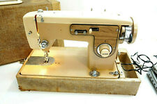 Hilton Sewing Machine Zig Zag Stitcher 366 With Foot Pedal Vintage ~ Runs Read