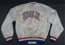 Rare Vintage SWINGSTER 1994 1996 Atlanta Olympic Games Satin Jacket 90s USA SZ L