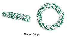 Dog Toy Mintees Mint Flavored Green Rope Chew Toys - Choose Ring or Stick Shape