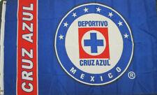 New listing Club Maquina Del Cruz Azul Flag Banner 3x5 ft, New Blue White Red Bandera