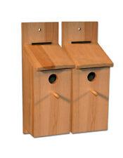 2 Nistkasten für Meisen Bausatz Meisenkasten Vogelhaus Vögel selberbauen basteln