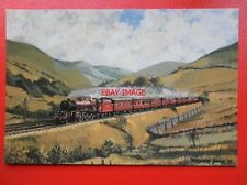 POSTCARD LMS LOCO NO 6203 PRINCESS MARGARET ROSE IN THE LUNE VALLEY