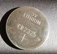 1 x  Lithium Knopfzelle 3V CR 2325 / BR 2325 Hersteller DIVERSE