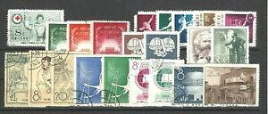 CHINA PRC SC#242/393,   Assorted Group of Issues from 1955-1958   CTO/Used NGAI