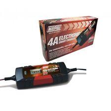 Maypole Smart Electronic Battery Charger 6 V 12V Wet Gel Caravan Car MP7423