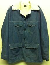 Vintage ROEBUCKS USA BLUE Jean Denim JACKET Coat