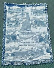 Covered Bridges of Mt. Monadnock New Hampshire Afghan Tapestry Throw Blanket NH
