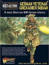 28mm Warlord Games Bolt Action German Veteran Grenadier Squad STG44 BNIB WWII
