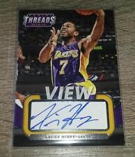 2014-15 Panini Threads View Autographs Xavier Henry