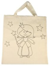 Bag Princess 15x16 1/2in, Beige 100% Cotton - Rayher