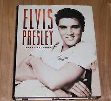 Elvis Presley Unseen Archives Hardcover 2003 Parragon Publishing ISBN 0752583352